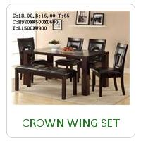 CROWN WING SET